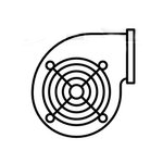 Centrifugal and Blower Fans Vector